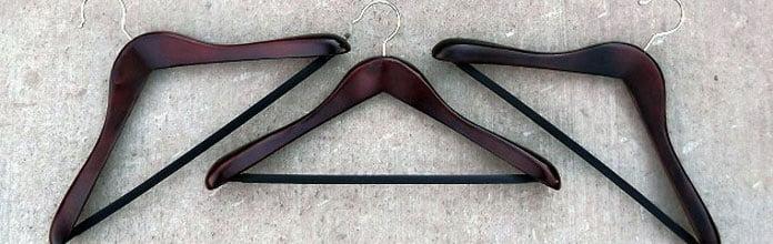 cabide ideal para cada tipo de roupa
