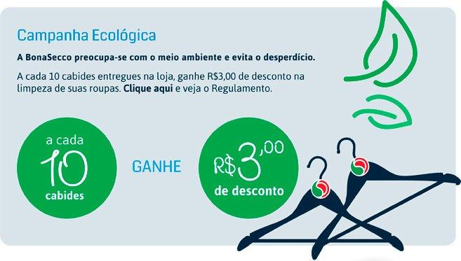 promoções campanha ecológica