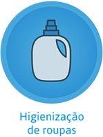 Higienização de roupas