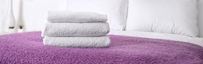 Descubra como lavar toalhas de banho!
