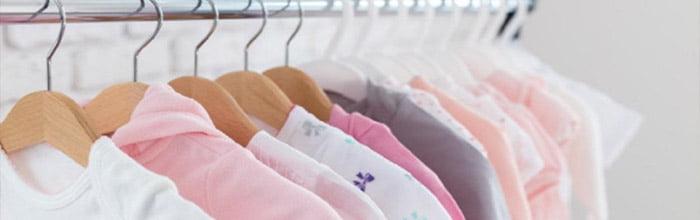 roupas para crianças e bebês Pontos de atenção